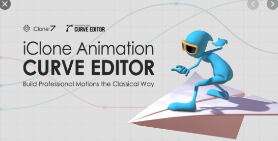 Curve Editor Plug-In for Reallusion iClone 7
