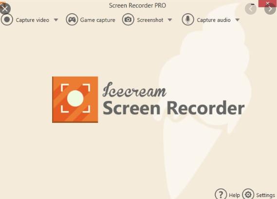 Icecream Screen Recorder free download