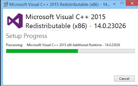 Visual C++ Redistributable free download