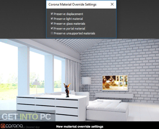 Corona Renderer 2.0 for 3ds Max 2013-2019 + Material Library