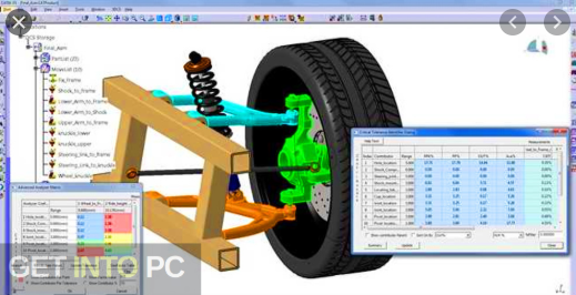 3DCS Variation Analyst 7.6.0.0 for CATIA V5 R20-29 x64