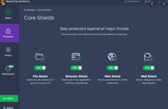 Avast AntiVirus Home Edition