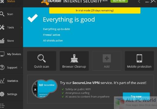 Avast Internet Security 17.4.2294