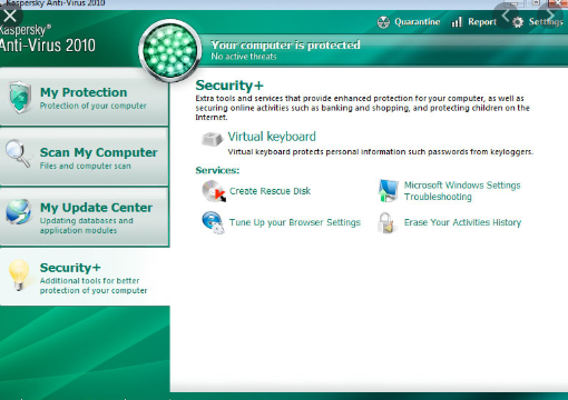 Kaspersky Antivirus 2010