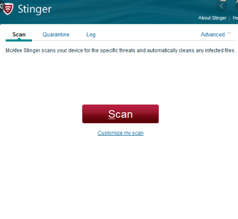 Mcafee Stinger Free Download 2020 Get Into Pc