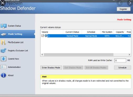 Shadow Defender 1.4.0.672