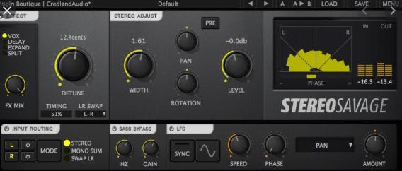 Credland Audio Stereo Savage VST