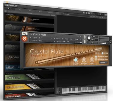Embertone Crystal Flute (KONTAKT)