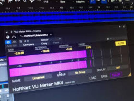 HoRNet – VU Meter MK4