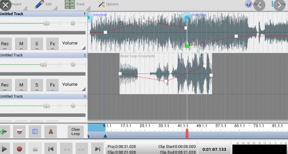 NCH MixPad Audio Mixer