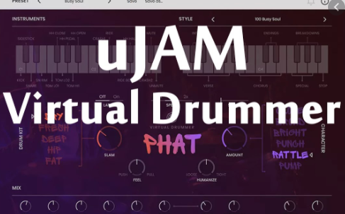 uJAM – Virtual Drummer PHAT