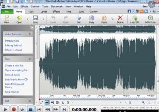 WavePad Sound Editor Master Edition