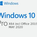 Windows 10 x64 Pro incl Office 2019