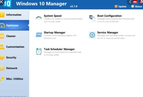 Yamicsoft Windows 10 Manager 2020