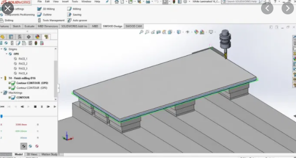 EFICAD SWOOD 2020 for SOLIDWORKS