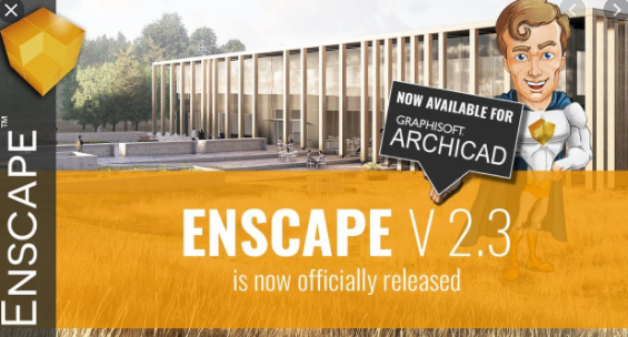Enscape3D for Revit SketchUp Rhino ArchiCAD