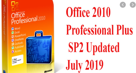 Office 2010 Professional Plus SP2 Updated July 2019