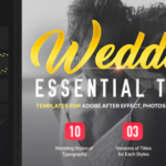 VideoHive – Wedding Titles for After Effects / Premiere Pro
