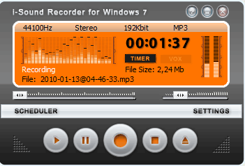 AbyssMedia Streaming Audio Recorder