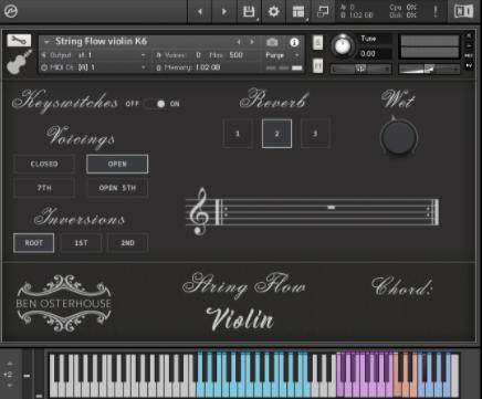 Ben Osterhouse – Flow String Violin V1.3.1 (KONTAKT)