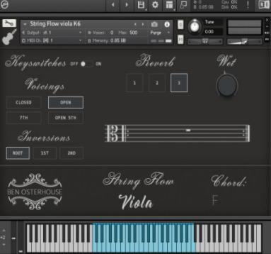Ben Osterhouse – Flow of Viola String v1.3.1 (KONTAKT)