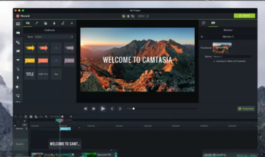 Camtasia 2018 for Mac OS X