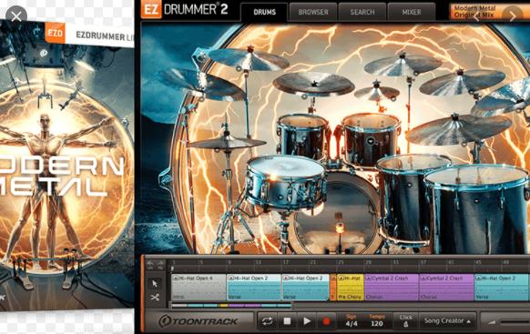 EZX Modern Metal (SoundBank)