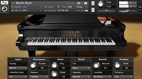 Native Instruments – Berlin Concert Grand (KONTAKT)