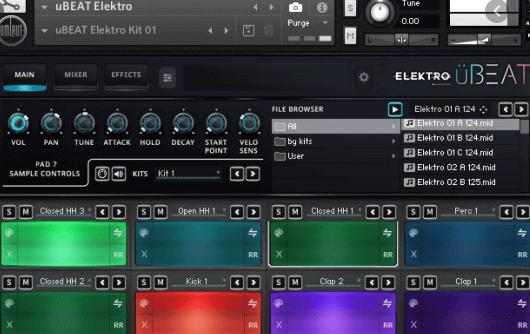 Umlaut the Audio – uBEAT Elektro (KONTAKT)