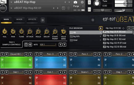 Umlaut the Audio – uBEAT Hip-Hop (KONTAKT)