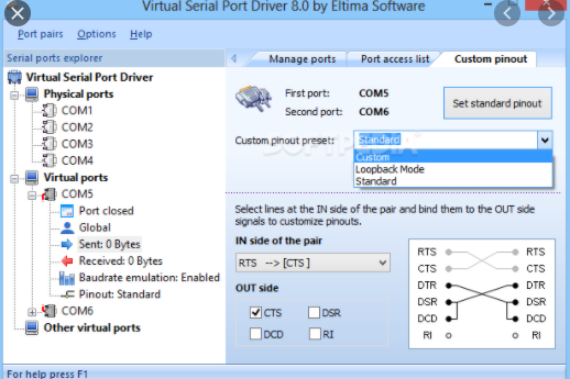 Virtual Serial Ports Driver XP