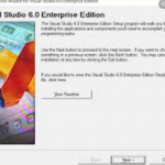 Visual Studio 6.0 Enterprise Edition