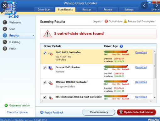WinZip Driver Updater Pro 2019 Free Download For Windows 7, 8, 10