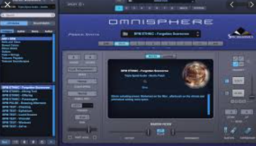 the Triple Spiral the Audio – the Ambient Pads (Omnisphere)