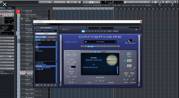 the Triple Spiral the Audio – the Empty the Fields 2 (OMNISPHERE)