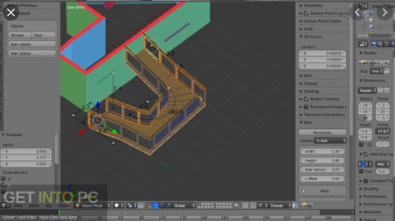 Archipack Addon for Blender