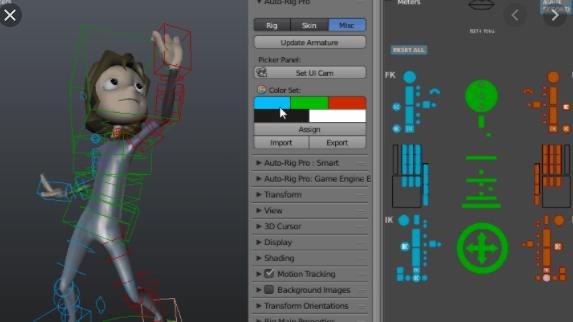 Auto-Rig Pro for Blender