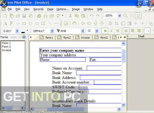 Form Pilot Office 2021