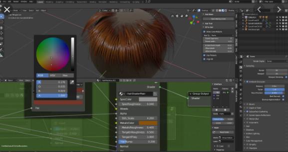 Hair Tool v2.0.14 for Blender 2.8