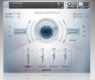 Heavyocity – NOVO Essentials (KONTAKT) Library