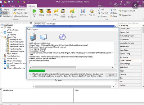 InstallAware Studio Admin X12