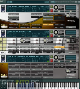 KONTAKT Factory Library & Prominy SC Electric Guitar