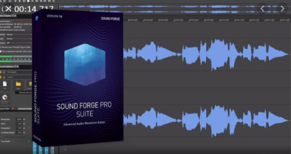 MAGIX SOUND FORGE Pro Suite 14