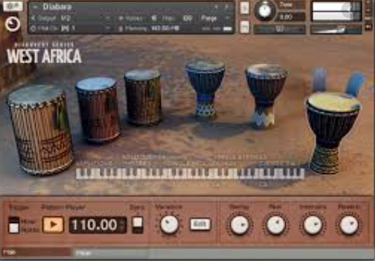 Native Instruments – West Africa Library (KONTAKT)
