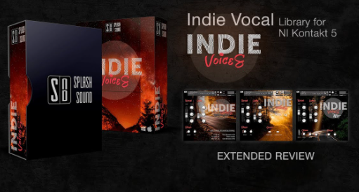 Splash Sound – Indie Voices / Vocal library (KONTAKT)