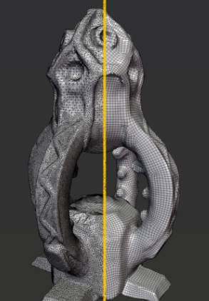 Tesselator – Quadrilateral Remeshing + Guru Rock Essentials for Blender