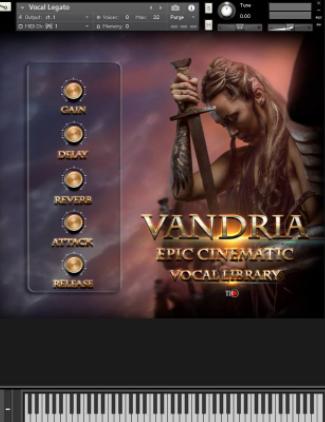 Vandria Epic Cinematic Vocal Library KONTAKT