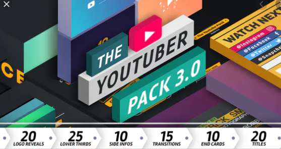 VideoHive – The YouTuber Pack