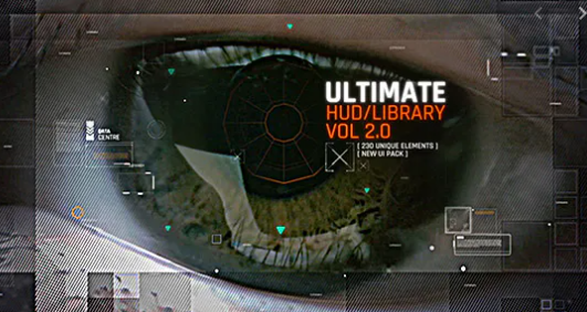 VideoHive – Ultimate HUD Library vol. 2