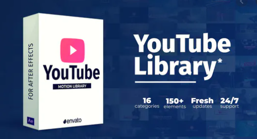 VideoHive – Youtube Library for After Effects